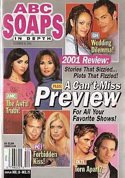 ABC Soaps In Depth December 25, 2001