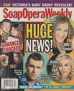 Soap Opera Weekly December 25, 2007
