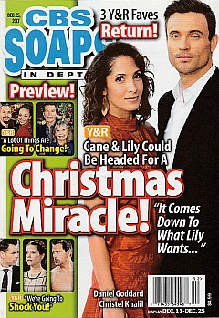 CBS Soaps In Depth Dec. 25, 2017