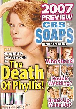 CBS Soaps In Depth December 26, 2006