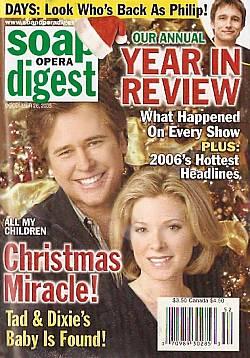 Soap Opera Digest Dec. 26, 2006