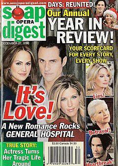 Soap Opera Digest Dec. 27, 2005