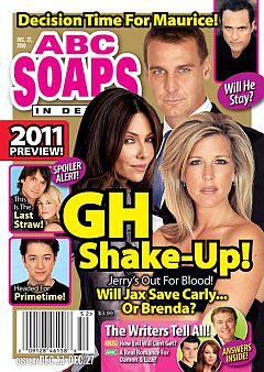 December 27, 2010 issue of ABC Soaps In Depth magazine