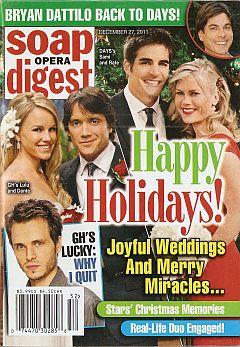 Soap Opera Digest December 27, 2011