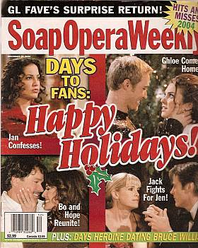 Soap Opera Weekly December 28, 2004