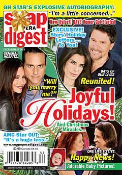 Soap Opera Digest December 28, 2010