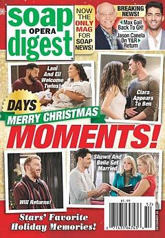 Soap Opera Digest December 28, 2020