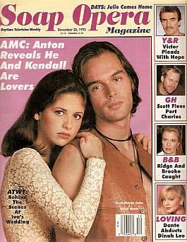 Soap Opera Magazine Dec. 28, 1993