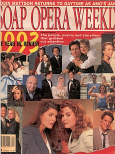 Soap Opera Weekly December 28, 1993