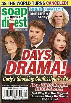 Soap Opera Digest December 29, 2009