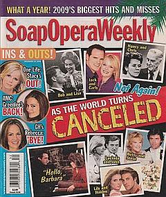 Soap Opera Weekly Dec. 29, 2009