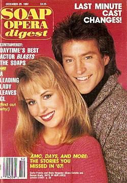 Soap Opera Digest December 29, 1987