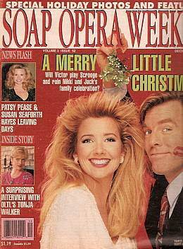 Soap Opera Weekly December 29, 1992