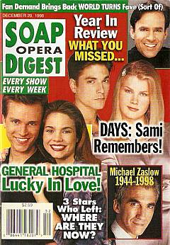 Soap Opera Digest - December 29, 1998