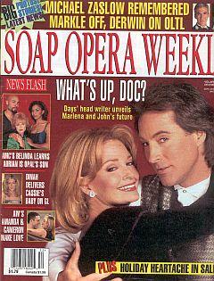 Soap Opera Weekly December 29, 1998
