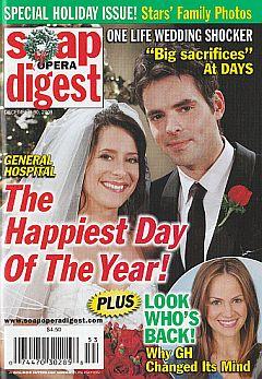 Soap Opera Digest December 30, 2008
