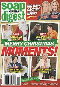 Soap Opera Digest December 30, 2019