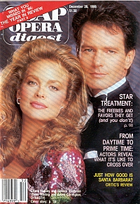 Soap Opera Digest December 30, 1986