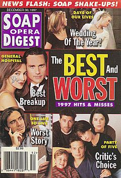 Soap Opera Digest - December 30, 1997
