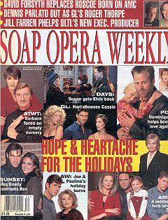 Soap Opera Weekly December 30, 1997