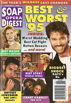 Soap Opera Digest - January 2, 1996