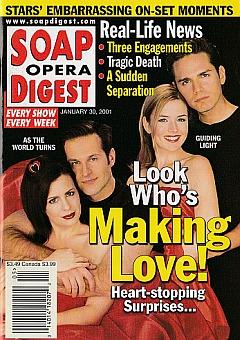 January 30, 2001 Soap Opera Digest