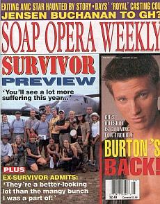 Soap Opera Weekly January 30, 2001