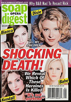 Soap Opera Digest Jan. 30, 2007