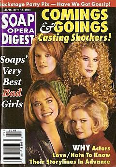 Soap Opera Digest - January 30, 1996