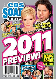 CBS Soaps In Depth January 3, 2011
