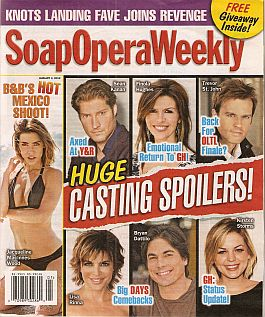 Soap Opera Weekly January 3, 2012