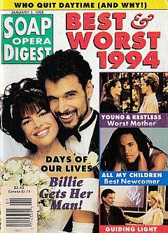 Soap Opera Digest - January 3, 1995