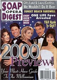 Soap Opera Digest - January 4, 2000