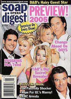 Soap Opera Digest Jan. 4, 2005