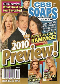 CBS Soaps In Depth January 4, 2010