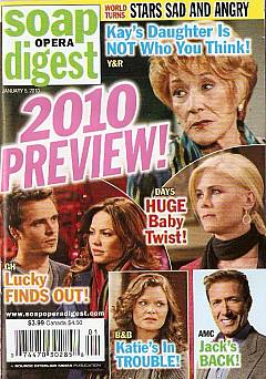 Soap Opera Digest January 5, 2010