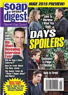 Soap Opera Digest Jan. 5, 2015