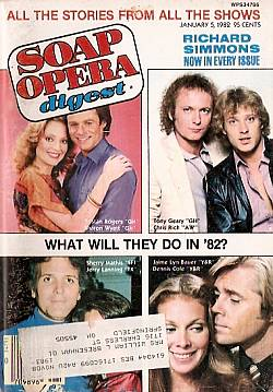 January 5, 1982 issue of Soap Opera Digest