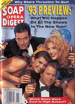 January 5, 1993 Soap Opera Digest