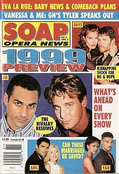 January 5, 1999 issue of Soap Opera News magazine