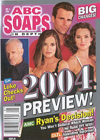 ABC Soaps In Depth January 6, 2004