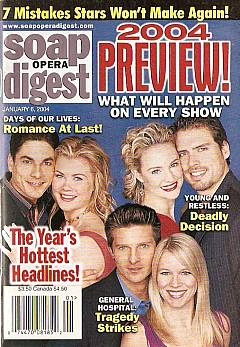 Soap Opera Digest Jan. 6, 2004