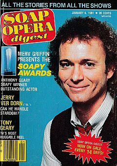 January 6, 1981 issue of Soap Opera Digest