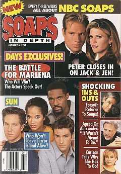 January 6, 1998 issue of NBC Soaps In Depth magazine