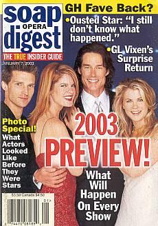 Soap Opera Digest Jan. 7, 2003