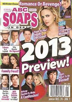 ABC Soaps In Depth January 7, 2013