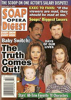 Soap Opera Digest Jan. 8, 2002