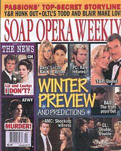Soap Opera Weekly January 8, 2002