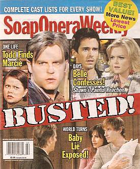 Soap Opera Weekly Jan. 8, 2008