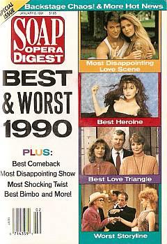 Soap Opera Digest January 8, 1991